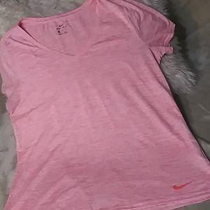 5/$25 Nike. Salmon dri fit tee NWOT SZ XL